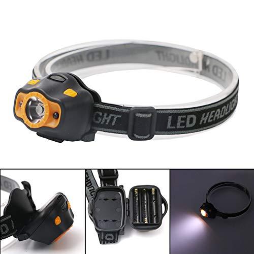 1 Pack 3W 2 Mode Motion Sensor Mini LED Headlamp Ultra Xtreme Waterproof Headlights Luxurious Fashionable High Lumen Lumens Bright Light Hiking Running Hunting Camping Tactical Flashlight