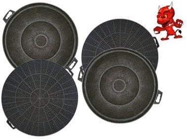 Mega set de 4 filtros de carbón activo filtro Filtro de carbón para campana Campana Balay 3bd761bp01, 3bd761np01, 3bd761 X P01: Amazon.es: Iluminación