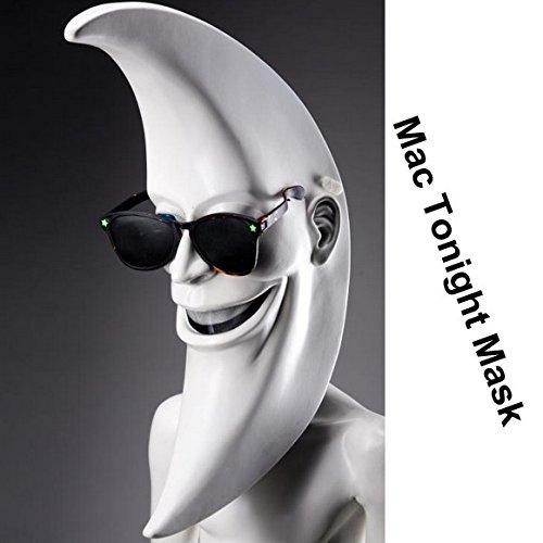 2015 - Mac Tonight Costume BOB BAKER moon wigs Halloween Mask masquerade latex masks party carnival latex mask female mask