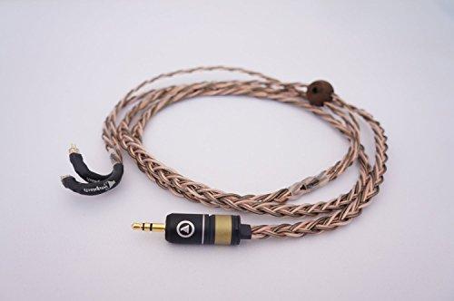 (Whiplash Audio TWag v3 & TWcu v3 Hybrid Westone replacement upgrade cable Westone 4R/UM3XRC/UM2XRC, JH Audio, UE Custom)