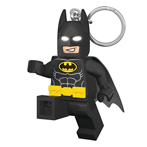 LEGO Batman Movie - Batman - LED Key Chain Light with Illuminating - Lego Keychain Batman
