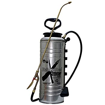 Image of Chapin 19069 3.5-Gallon Xtreme Stainless Steel Concrete Open Head Sprayer for Professional Concrete Applications (1 Sprayer/Package) Health and Household