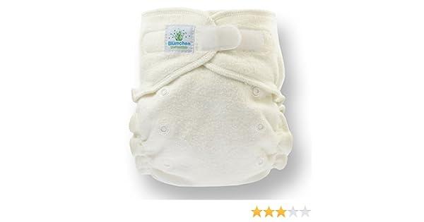 Flores Onesize Manta höschen pañales 1 pieza algodón orgánico (3 – 15 kg, cierre de adhesivo): Amazon.es: Bebé