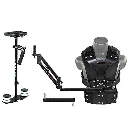 FLYCAM 5000 Camera Stabilizer with Comfort Arm and Vest + FREE Arm Support Brace & Table Clamp (FLCM-CMFT-KIT)| Stabilization System for DSLR Video camcorders up to 5kg/11lbs by FLYCAM