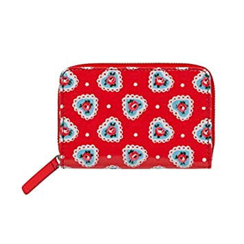 Cath Kidston - Monedero Rojo Rojo Brillante Small: Amazon ...