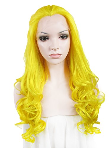 Imstyle-Drag-Queens-Long-Body-Wavy-Yellow-Cosplay-Synthetic-Lace-Front-Wig