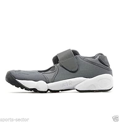 cd22f6d437c7 Nike Air Rift Mens Trainers Shoes Grey White (UK-8)  Amazon.co.uk ...
