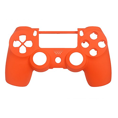 eXtremeRate-Orange-Soft-Touch-Replacement-Shell-Front-Faceplate-Cover-for-PlayStation-4-PS4-Controller-Generation-1-and-Generation-2