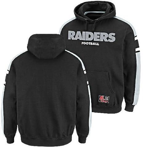 amazon com oakland raiders passing game iii hooded sweatshirt logo sweatshirts 36 #11