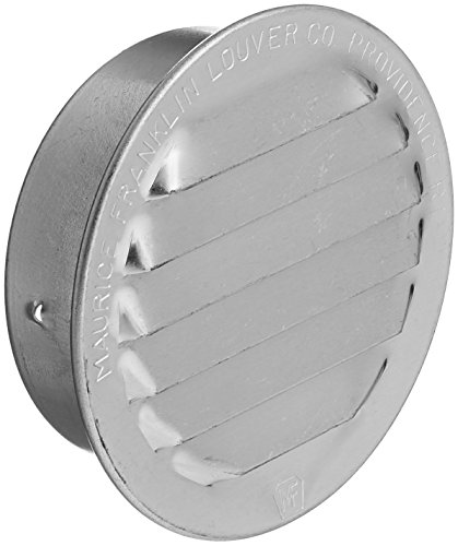 MAURICE FRANKLIN LOUVER RL-100 2 Mill Mini Louver (6 Pack), - Round Louver Vent Gable