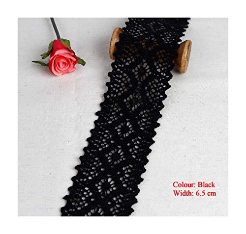 1 metre Lace Trim Crocheted 100/% Cotton 3.6 cm Width