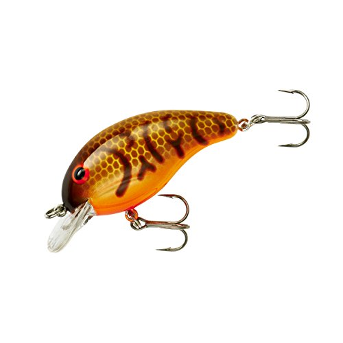 Bandit Crank 100-Series 2-Inch Crawfish 2 to 5-Feet Deep Bait (Orange)