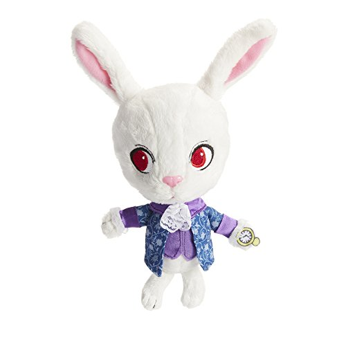 Alice Through the Looking Glass White Rabbit Baby Plush -