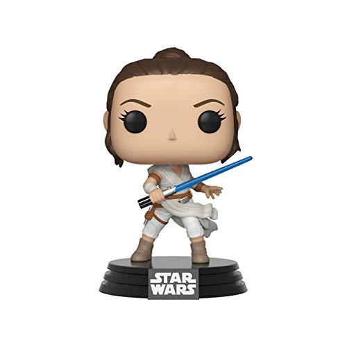 Funko- Pop Star Wars The Rise of Skywalker-Rey Disney Figura Coccionab, Multicolor, Talla Unica (39882)