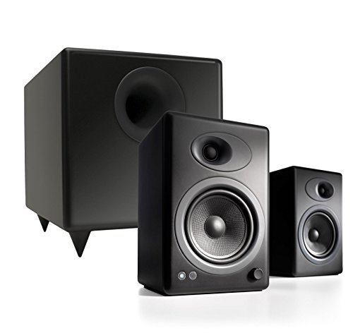 Audioengine A5+ Powered Speaker & S8 Subwoofer Bundle - Black