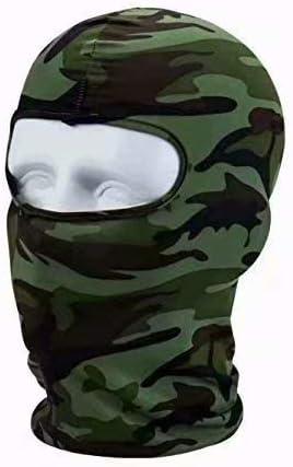 Cagoule Masque de T/ête Chapeau Complet pour Sport P/êche Cyclisme Camouflage