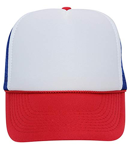 7f0ab40fbb0 QML Trucker Cap Mesh Hat with Solid, Two Tone Colors and - Import ...