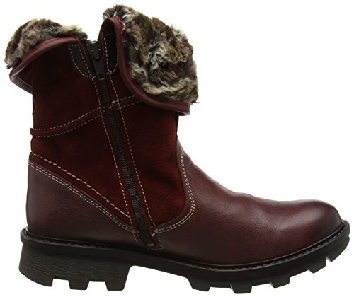 Josef Seibel Damen Marylin 11 Stiefel, Braun Red (Carmin)