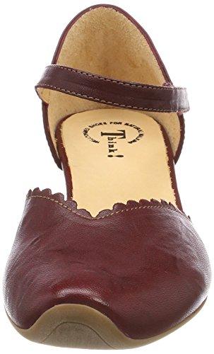 Pensate donna alla cinturino 282249 rosso 72 kombi alla rosso da caviglia caviglia Aida rqnH4Twr