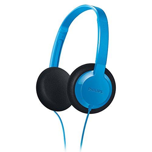 Philips SHK1000BL/28 Kids-On Ear Headphone, Blue