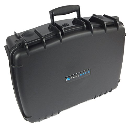 CASEMATIX PRO Airtight Video Projector Travel Case Fits Epson Home Cinema 2150, Epson Home Cinema 2100, Epson Home Cinema 1060 and More with Select Accessories – Waterproof & Customizable by CASEMATIX