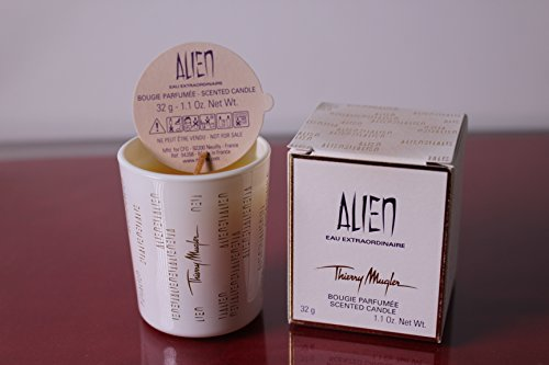 Perfume Alien Scented (ALIEN BY MUGLER PERFUME SCENTED MINI CANDLE 1.1 OZ)