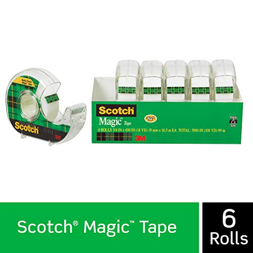 Scotch Brand 6122 Magic Tape,