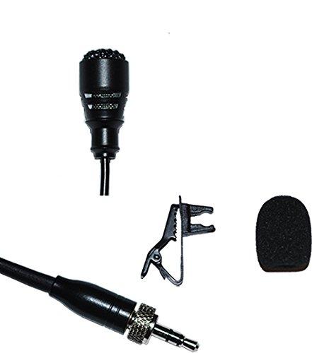 (Lavalier Lapel Stereo Mic for Sennheiser SK100 300 500 G1 G2 G3 Series)