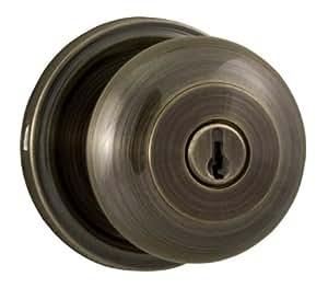 Weslock 00640IAIASL23 Impresa Knob, Antique Brass