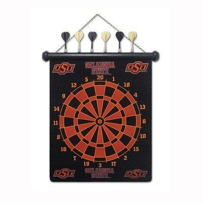 Oklahoma State Dartboard (Oklahoma State Cowboys Magnetic Dart Set)
