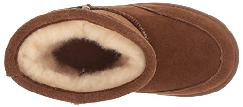 BEARPAW Baby Meadow Mid Calf Boot, Hickory II, 8 M US Toddler