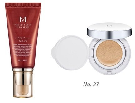 MISSHA M Perfect Cover BB Cream SPF 42 PA+++  Bundle with M