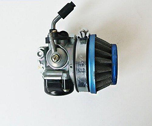 Signswise Racing Carburetor for 2 Stroke Engine Motorized Bicycle ATV Quad 49cc 66cc 70cc 80cc Blue (49cc Racing Carburetor compare prices)