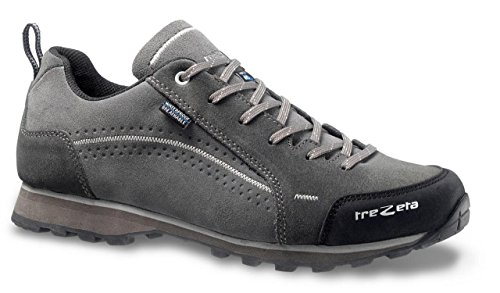 TREZETA Shoes Uomo Flow WP Outdoor Lifestyle Grey-Antracite Grey-Antracite