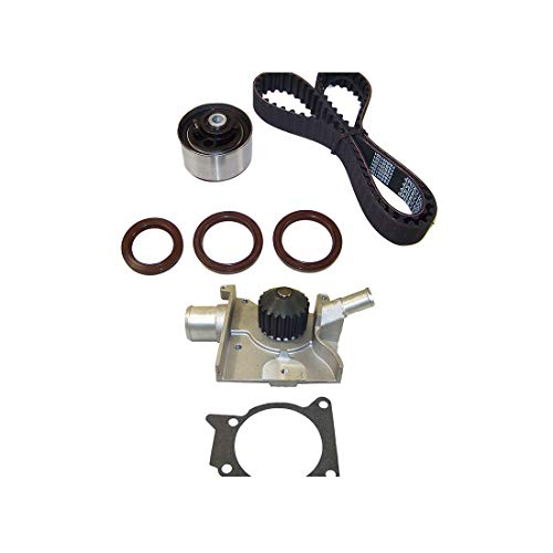 Tracer Ford Mercury (DNJ TBK420AWP Timing Belt Kit with Water Pump for 1997-2002 / Ford, Mercury/Escort, Tracer / 2.0L / SOHC / L4 / 8V / 121cid)