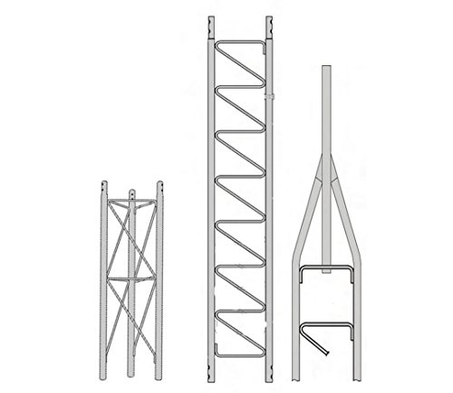 ROHN 25SS020 25G Series 20' Self Supporting Tower Kit, No Ice by Rohn