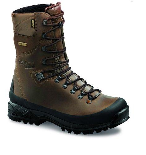 CRISPI - Zapatos de caza para hombre marrón
