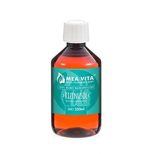 MeaVita Rizinusöl - 1 reines kaltgepresstes Öl, 1er Pack (1 x 250 ml)