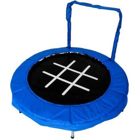 Trampoline 4' Bouncer for Kids by Jumpking (Blue/Chalk)