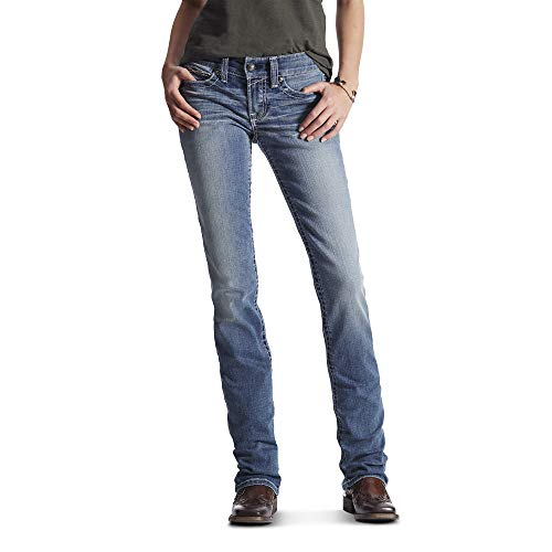Ariat Women's R.E.A.L Mid Rise Straight LegJean
