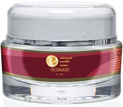 Ecomaxx Advanced Wrinkle Cream-Boost Collagen and Elastin- Anti-Aging Moisturizer