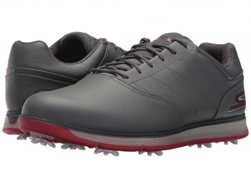 SKECHERS Performance(スケッチャーズ) メンズ 男性用 シューズ 靴 スニーカー 運動靴 GO GOLF - Pro V.3 - Charcoal/Red [並行輸入品] B07BMHK82Z