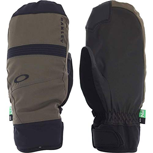 - Oakley Roundhouse 2.5 Men's Snowboarding Mitten Gloves - Dark Brush/X-Large