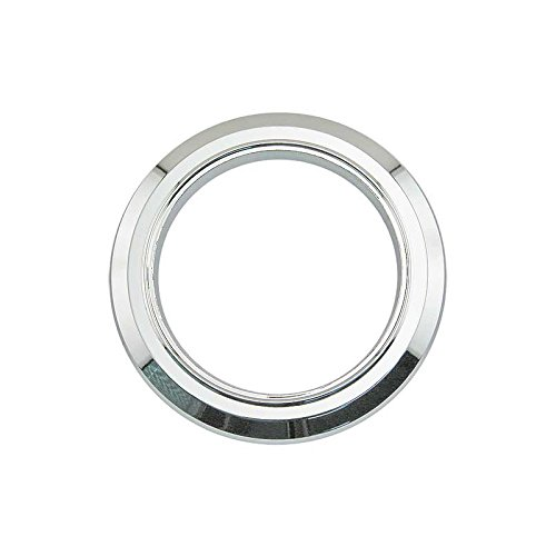 MACs Auto Parts 66-33641 - Ford Thunderbird Convertible Top Switch Escutcheon Plate, Chromed Plastic