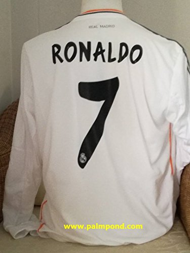 Sleeve Long Jersey 2007 Team (RONALDO#7 MANCHESTER UNITED BLACK RETRO LONGSLEEVE SOCCER JERSEY 2007-2008 FULL PATCH (BLACK, M))