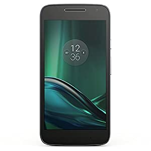 Motorola XT1601 Moto G4 Play DUAL SIM Black+Lava Cover 2GB/16GB (International Version) , GSM ONLY