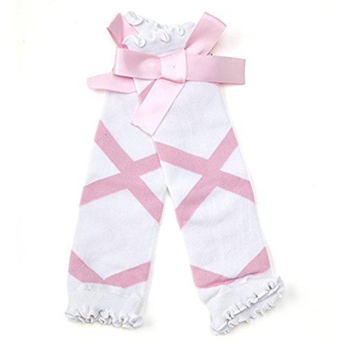 Infant Toddler Girls Warm Adorable Ballet Bow Leg (Sassy Jersey Dress)