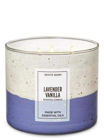 White Barn Lavender Vanilla 3-Wick Candle 14.5 oz - Lavender Vanilla Candles
