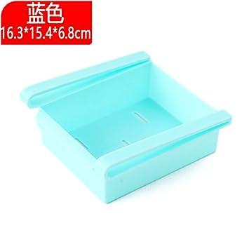 XXAICW Almacenamiento de plástico cajas transparentes jugar cocina Refrigerador cajón para verduras Cajón para separadores-
