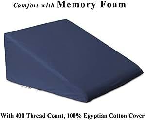 Amazon Com Intevision Foam Bed Wedge Pillow 25 Quot X 24 Quot X